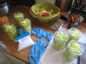 Pickling peppers-secret ingredients
